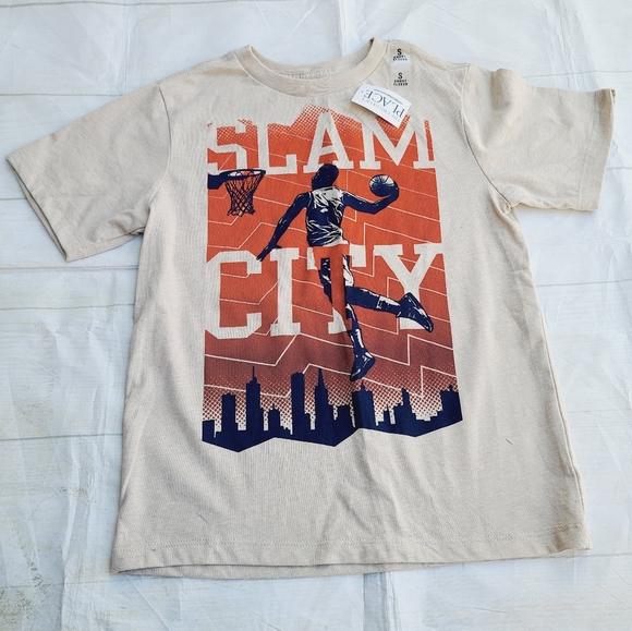Children/'s Place  Boys T-Shirt White Bike Size M 7//8 L 10//12  NWT